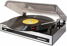 Roadstar Vintage Line Turntable With RCA Line-out and USB