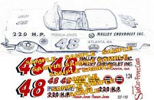 Cd_1157 #48 Possum Jones '57 Chevy Convertible 1:64 scale decals ~Overstock~