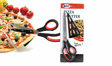 Pizza Scissors 11 Inch Stainless Steel Slide the Spatula Tip Under the Pie & Cut