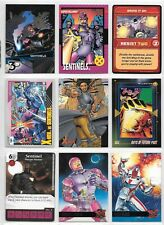Sentinels, Nimrod, Omega Sentinel, X-Men, Marvel card lot