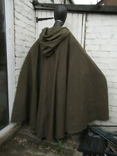 Medieval Vikings hooded cloak LARP Cosplay Re enactment Hobbit cloak