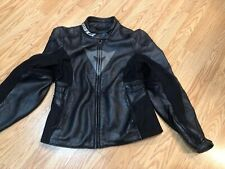 Womens Dainese Motorcycle Leather Racing Jacket