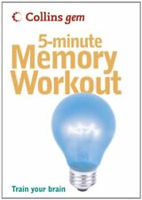 5-Minute Memory Workout (Collins Gem) by Callery, Sean Paperback Book The Cheap
