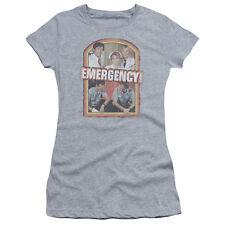 Emergency! TV Show 70's RETRO CAST Vintage Style Juniors Cap Sleeve T-Shirt