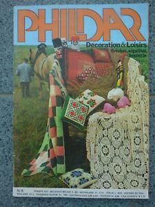Catalogue de tricot Phildar Décoration & Loisirs N° 5 ViNTAGE animaux poupées