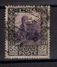 LIBIA 1921 Pittorica 55c USATO (EN)