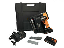 PE20V2118G Cordless F Nailer & Stapler With Two Batteries 20V 2.0ah Nail Gun