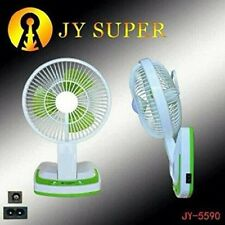 Rechargeable Ac/Dc 2 Speed Table Fan with 21SMD LED lights