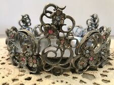 """PartyLite """"Jewels"""" 3 Wick Candle Holder P7474"""