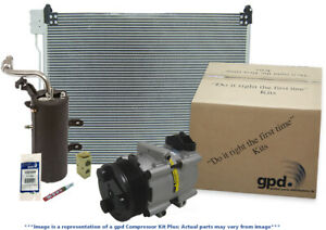 A/C Compressor-Compressor Kit with Cond New fits 04-05 Ford Excursion 6.0L-V8