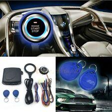 12V Car Ignition Switch Engine Push RFID Keyless Entry Remote Starter System Kit