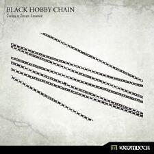 KROMLECH Black hobby chain 2mm X 2mm (1 meter) Sigmar 40K Scenery NEW