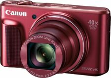 Canon PowerShot SX720 HS Digital Camera - Red SEALED BOX! INCLUDES WARRANTY!