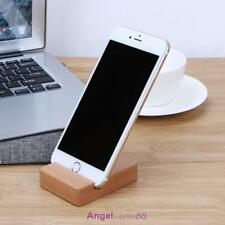Universal Cell Phone Wooden Table Desk Stand Holder For Mobile Phone Tablet PC