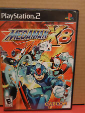 Megaman X8 Vidoe Game For Playstation 2 Complete VG condition