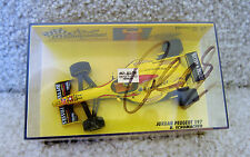 RALF SCHUMACHER AUTOGRAPHED F1 1997 JORDAN 197 PEUGEOT #11 MINICHAMPS