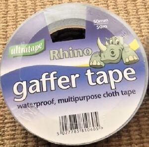 Gaffer Tape 50M x 50mm Silver