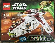 LEGO Star Wars 75021 Republic Gunship New Sealed 7 MiniFigs Mint Box