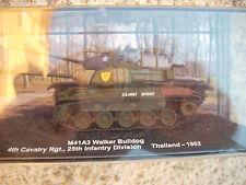 "DIE CAST TANK "" M41A3 WALKER BULLDOG THAILAND - 1962   SCALA 1/72"