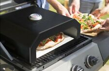 Firebox Portable PIZZA OVEN to use with Charcoal BBQ Gas BBQ