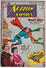 Action Comics #260 VF+ 8.5 Superman Mighty Maid Supergirl 1960!-