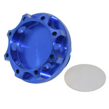 BLITZ Engine Oil Fuel Filler Cap Cover Billet Blue For SUBARU Impreza WRX STI