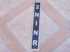 Nos Vintage Passepartout PPT Shift Lever Decal 2N1NR