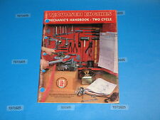 used TECUMSEH 692508 2 cycle, pre 1985 mechanics handbook repair service manual
