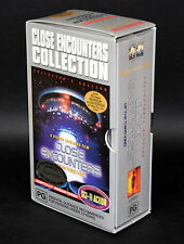 VHS Video Collectors BOX SET ~ CLOSE ENCOUNTERS OF THE THIRD KIND Interviews BTS