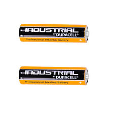2X Duracell Industrial AA 1.5V LR6 Alkaline Battery MN1500 Replaces Procell AA