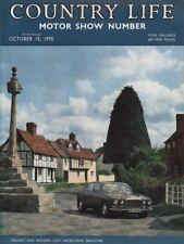COUNTRY LIFE (15 October 1970) MOTOR SHOW - BARLEY FOR MALTSTERS - EASTON NESTON