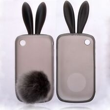 TPU Rabbit Hare Bunny Case with Limp Ears Silicone Case. Blackberry