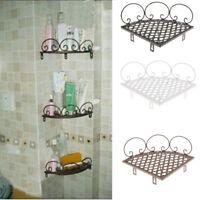 Shower Corner Triangle Caddy Shelf Holder Bathroom Storage Basket Rack Organizer
