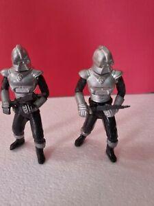 2x Battlestar Galactica Cylon centurion 1978 figure