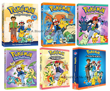 Pokemon: Original Anime Series Complete Seasons 1-5 + 6 Advanced Box/DVD Set(s)