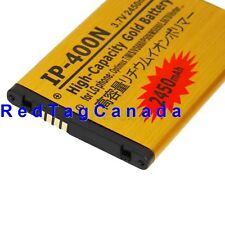 2450mAh Li-Ion Battery for LG Optimus T M S VS660 P509 MS690 LS670 Gold - Canada