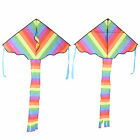 Outdoor High  Density FRP Rod Frame X Long Tail Kite Entertainment Toy
