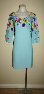 David & Jessie size 16 evening dinner party work office 3/4 sleeved dress