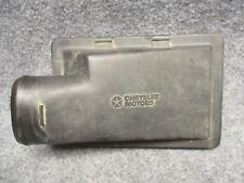 1995 Caravan Voyager 3.3 Air Cleaner Filter Box Top Half Lid 4458053 OEM 31563