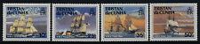 Tristan Da Cunha 487-90 MNH Royal Navy Warships