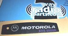 Motorola XTS5000 R radio housing Nameplate OEM New 3M Sticker (vhf uhf 800)