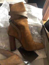 GUCCI Abigail Boots Womans Tan size 39.5