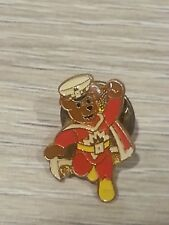 police charity super ted pin badge rare