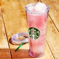 STARBUCKS Logo Venti 24 oz Reusable Cold Cup Coffee Tea Tumbler NEW