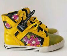 Supra Skytop Muska Pro Yellow Skate Shoes