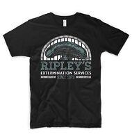 Alien T Shirt Ripley Alien Vs Predator Nostromo LV-426 Prometheus UFO NASA Space