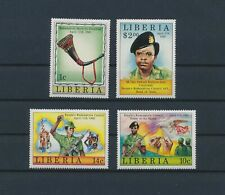 LL81268 Liberia redemption council horn of freedom fine lot MNH
