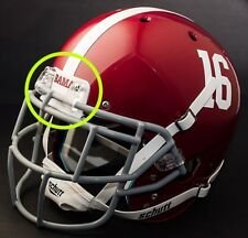 "ALABAMA CRIMSON TIDE Football Helmet FRONT TEAM NAMEPLATE Decal/Sticker ""BAMA"""