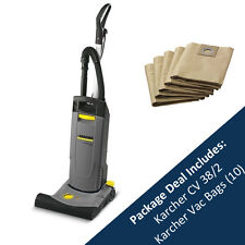 KARCHER CV 38/2 INDUSTRIAL VACUUM CLEANER AND PACK OF 10 BAGS - 10333310