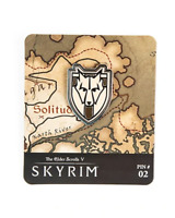 Skyrim The Elder Scrolls V Map Marker Pin Series Solitude #02 Limited Edition